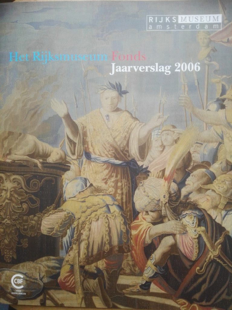 2006dec31 Rijksmuseum Fonds Sem Presser jaarverslag 00