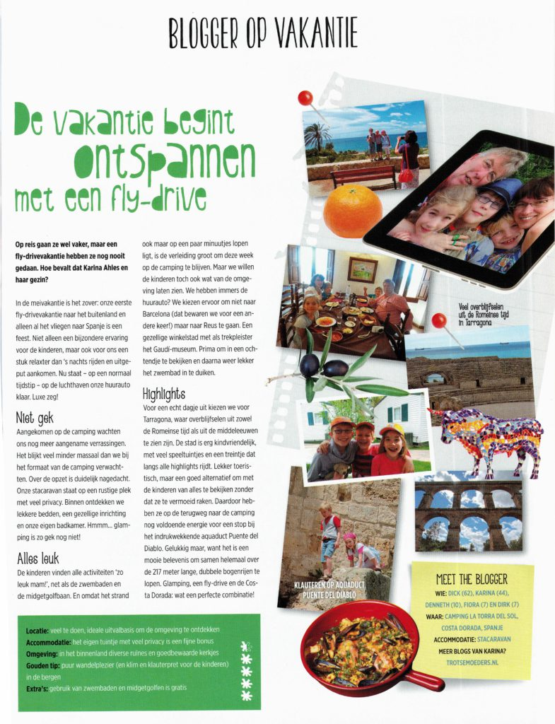 2015apr00 Geniet artikel blogger Karina Costa Dorada