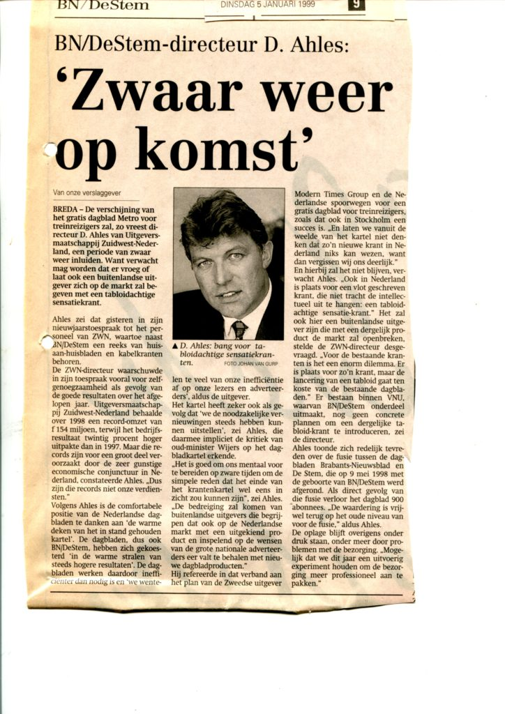 1999jan05 BNDeStem Ahles zwaar weer op komst